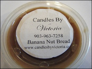 Candles By Victoria - Banana Nut Bread