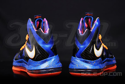 nike lebron 10 ps elite blue black 1 06 Nike LeBron X P.S. Elite Superhero   New Photos