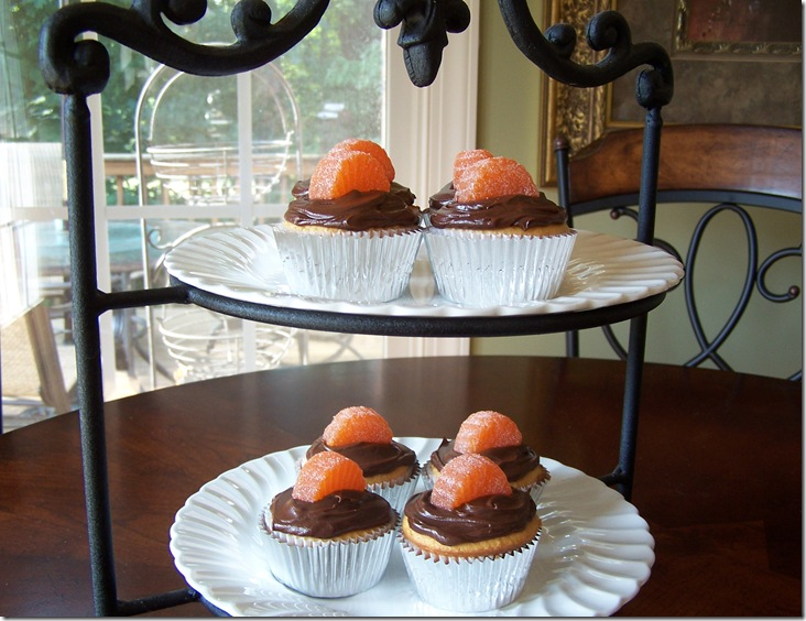 Orange Chocolate Cupcakes 021