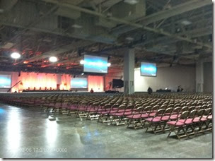 This is the RootsTech lecture hall where I taught