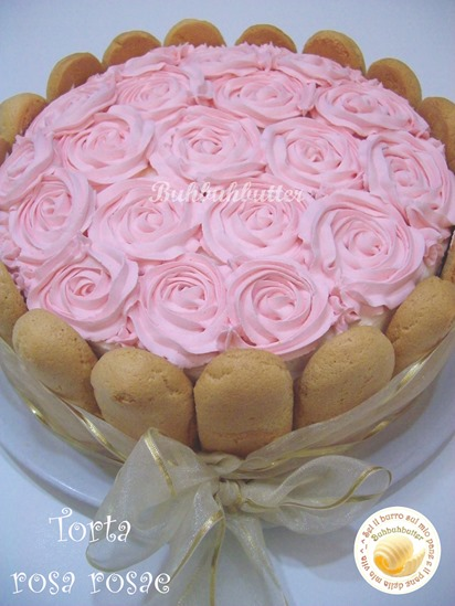 Torta rosa rosae