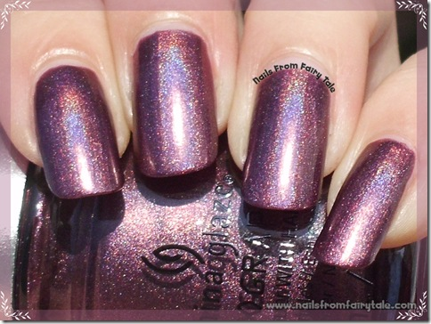 China Glaze Hologlam Collection – When Stars Collide