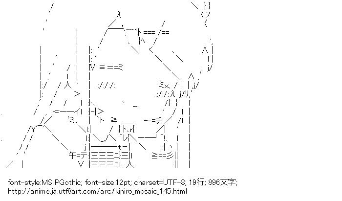 [AA]九条カレン (きんいろモザイク)