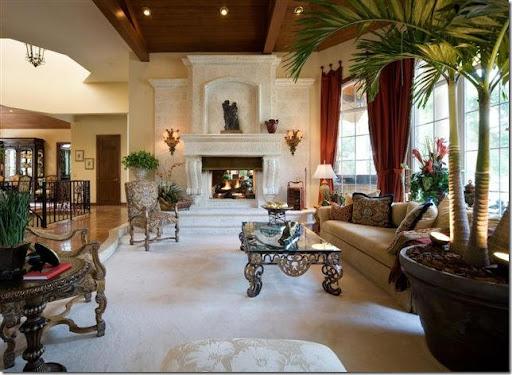 Exceptionnel Mediterranean Living Room