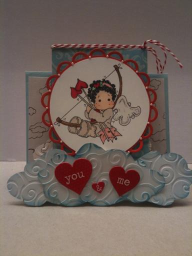 Cupid Magnolia Stamp