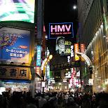shibuya by night in Tokyo, Tokyo, Japan