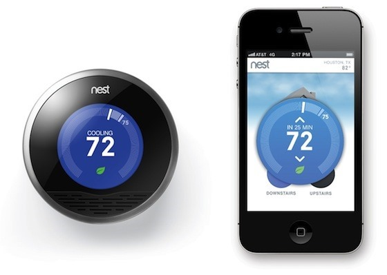 Troy hunt inviting hackers into our homes via the internet of things - Nest thermostat stylish home temperature control ...
