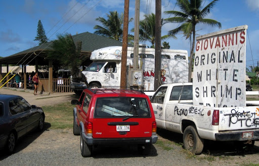 Giovanni's Shrimp Truck on the Oahu North Shore