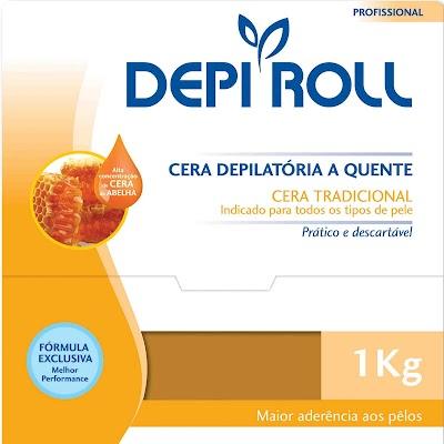 Cera Para Depilação Depi Roll