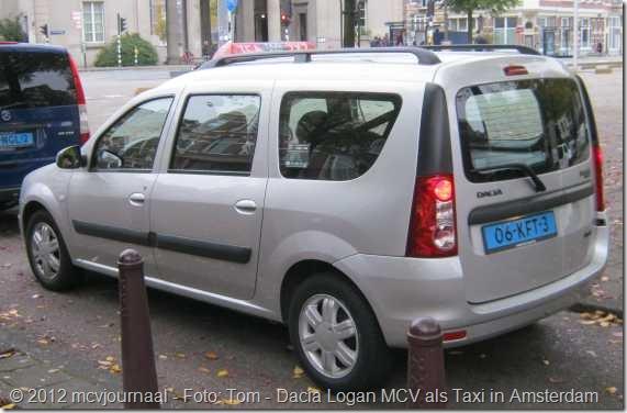 Dacia Logan MCV taxi Amsterdam 01