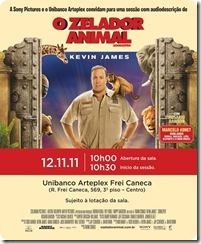 O Zelador Animal - cartaz do filme
