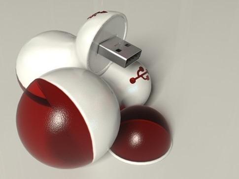 33. Bolas USB