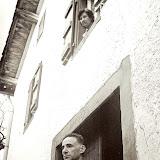 Xabaldor devant sa maison d'Urepel