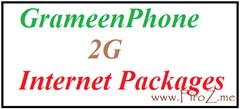 Grameenphone 2g internet packages