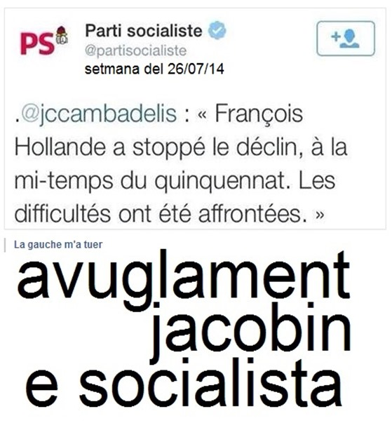 avuglament socialista