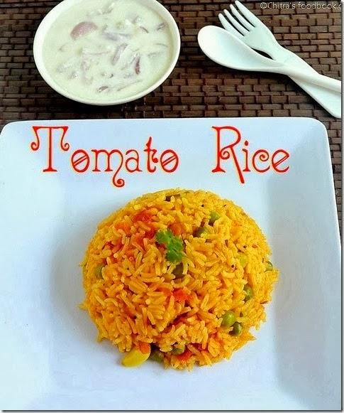 Tomato rice/thakkali sadam
