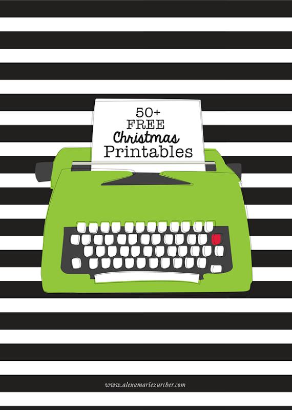 Over 50+ Free Christmas Printables