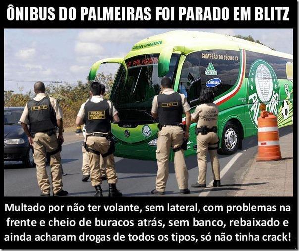 Ônibus do Palmeiras
