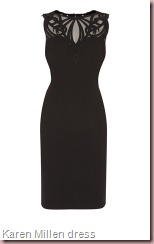 Karen Millen Dramatic applique dress