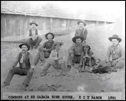 XIT cowboys