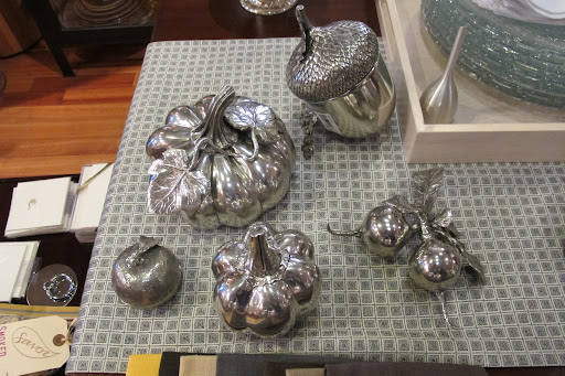 These autumnal pieces look so pretty silvered.