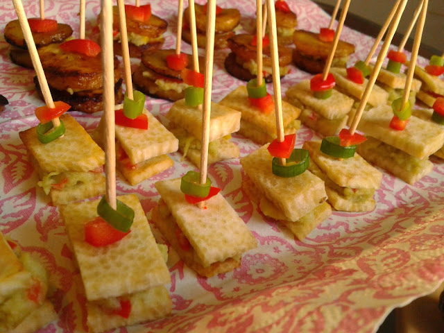 The vegan nigerian yam canapes for Canape recipes with ingredients and procedure