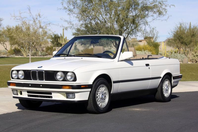 Would You Pay 42900 for a Brand New 1992 BMW 325i Cabrio with