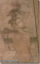 Diablo llevándose el alma del mal ladrón - Museo de Navarra