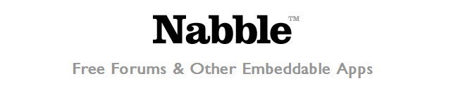 Nabble   Free forum   other embeddable apps