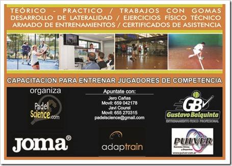 De la mano de Padel Science, el 9 y 10 de mayo en el Club Tecnopadel Ogijares en Granada podrás seguir formándote con este curso (Nivel 2).