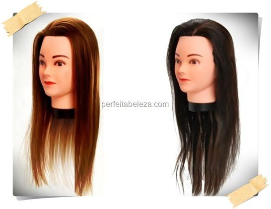 cabeça de boneca para cabeleireiro