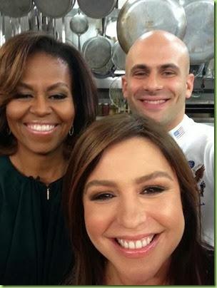 rachael ray selfie