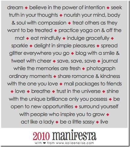 sweet girl manifesto
