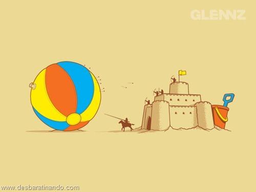 desenhos geeks nerds geek nerd desbaratinando glennz (2)