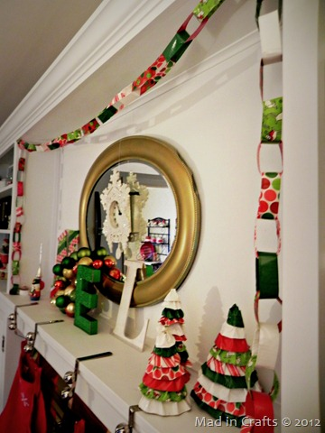 duck tape link garland