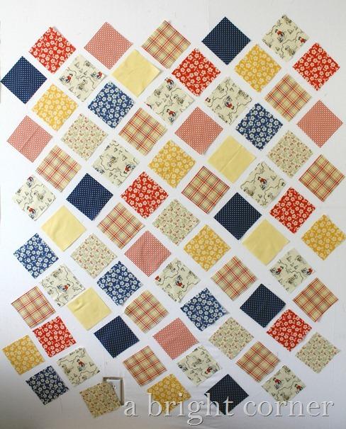 Seaside Fabric Riley Blake Design Wall
