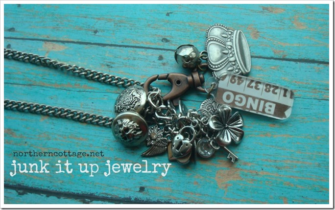 junk it up jewelry @NorthernCottage.net