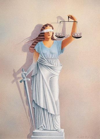 Гурбуз Доган Оксиоглу - Правосудие