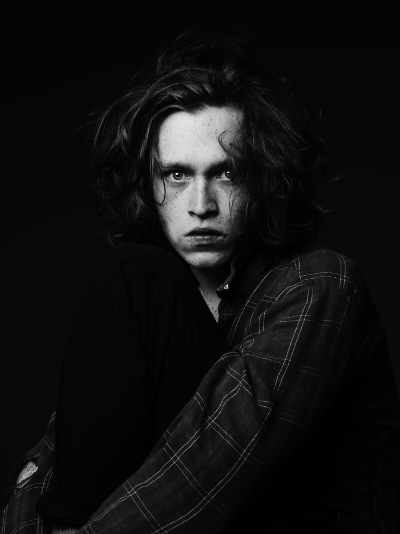 Caleb Landry Jones  by Hedi Slimane, 2011