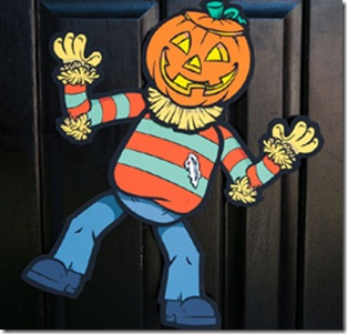 halloween-masca sperietoare de ciori