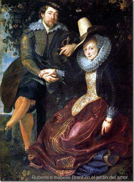 Rubens e Isabelle Brant en el jardín del amor.