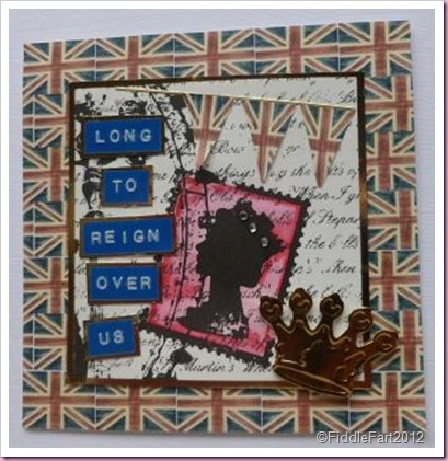 Diamond Jubilee card..