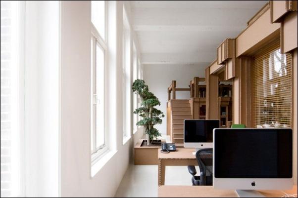 Des bureaux en carton (8)