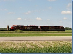 8433 Saskatchewan Trans-Canada Highway 1 - train