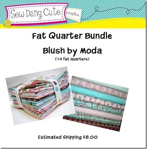Blush Fat Quarter Bundle