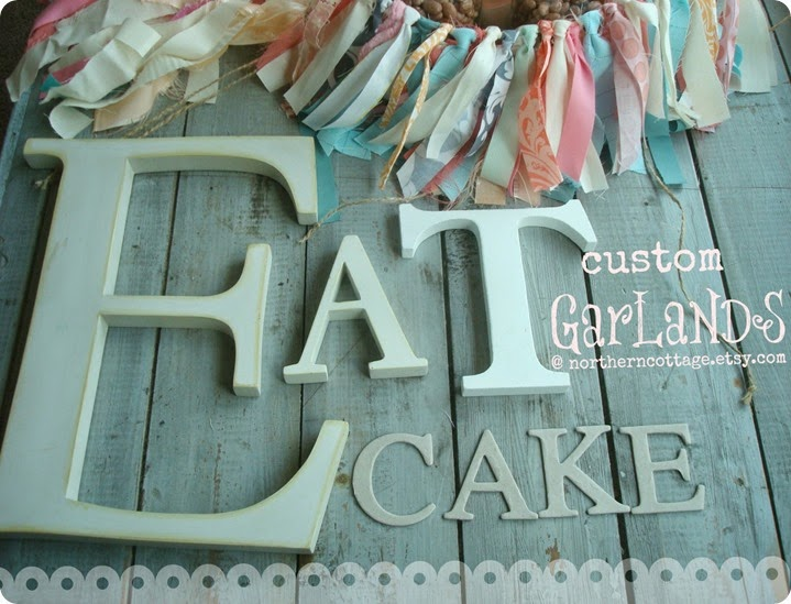Custom Garlands {Northern Cottage}