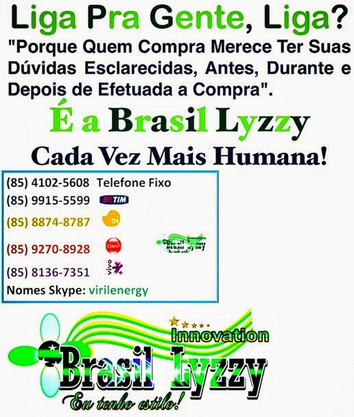 telefone e logo brasil lyzzy