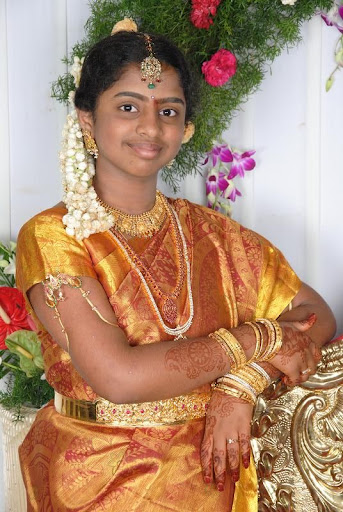 Half saree function picasa