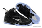 lbj9 fake colorway white black blue 1 01 Fake LeBron 9