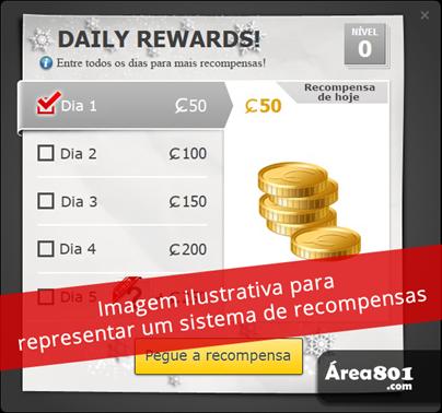 exemplo sistema de recompensas md